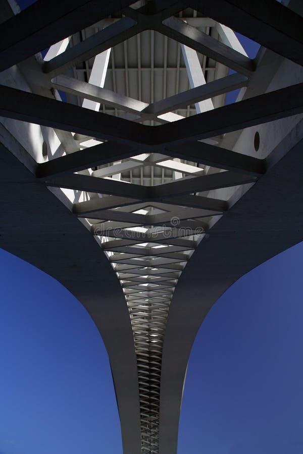 бетон моста стоковые изображения