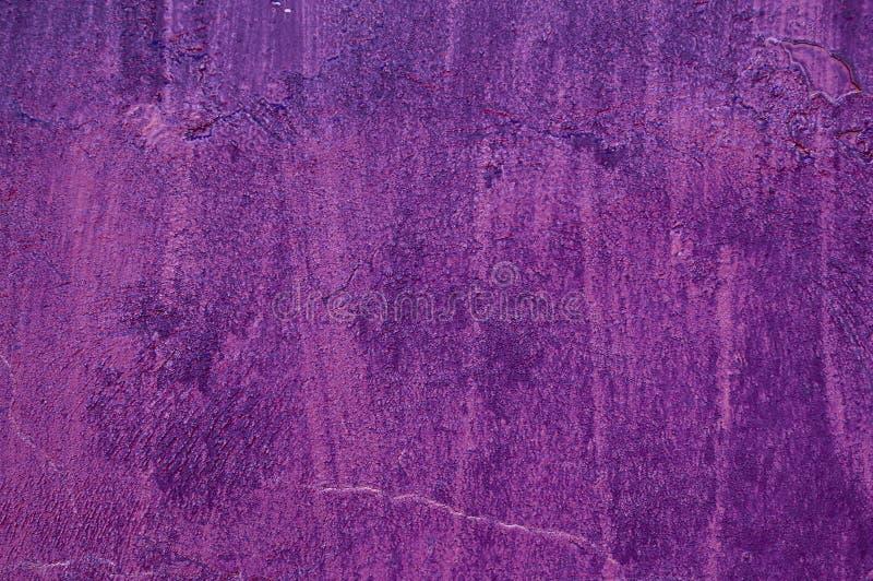 Бетон цемента темного пурпурного цвета старый год сбора винограда текстуры конструкции загородки пустой пустой шаблон обои, стоковая фотография rf