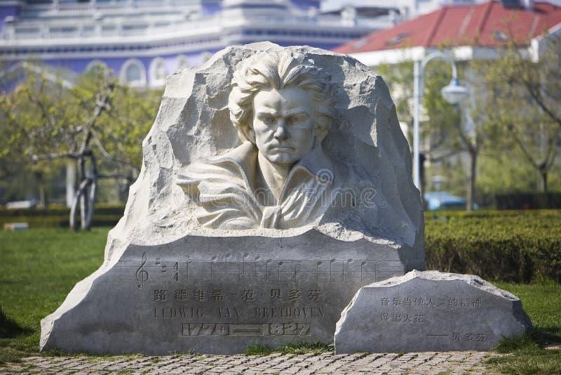Бетховен стоковая фотография