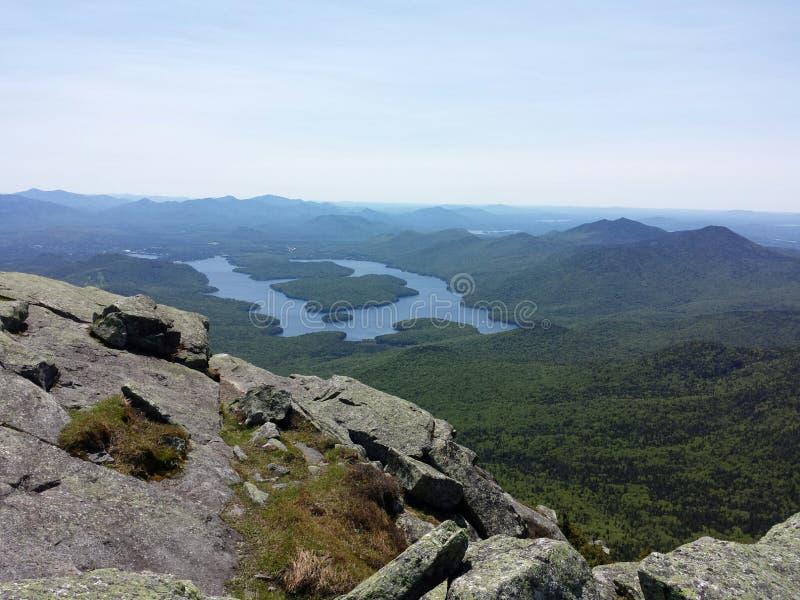 Белая гора стороны стоковое фото rf