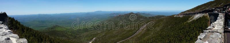 Белая гора стороны стоковые изображения rf
