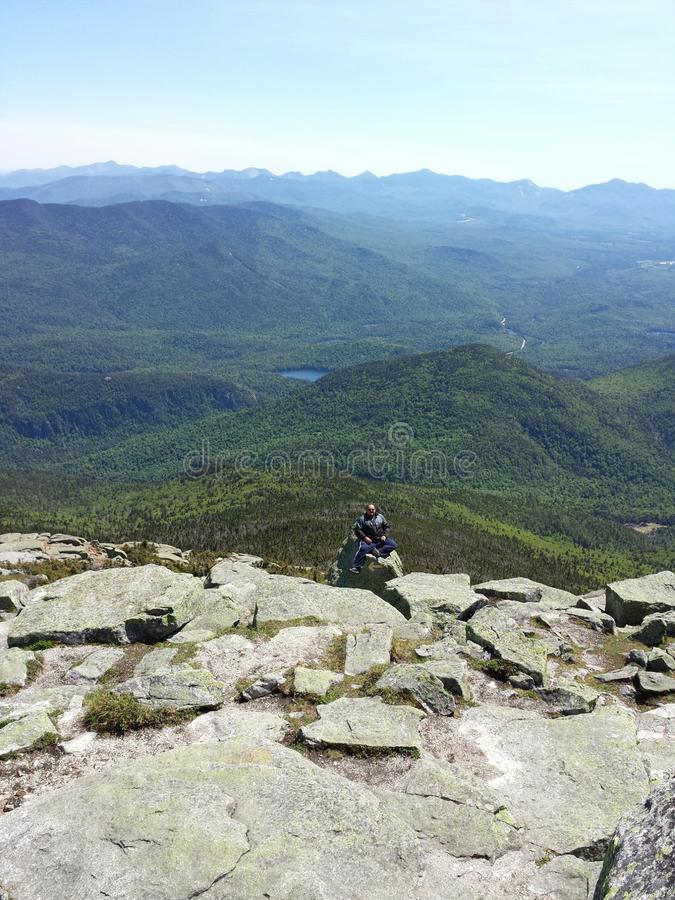 Белая гора стороны стоковая фотография rf