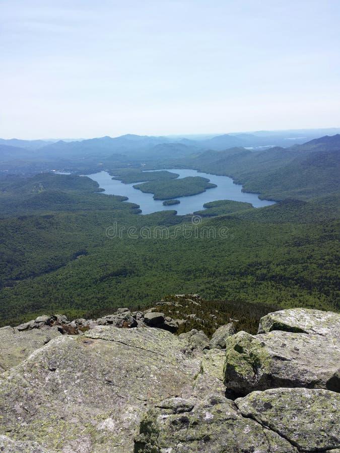 Белая гора стороны стоковые фотографии rf