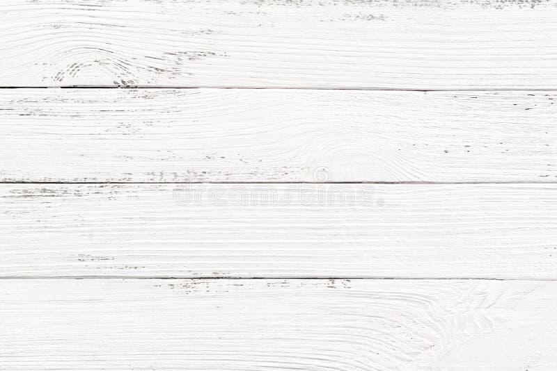Белая деревянная предпосылка текстуры стоковые изображения rf