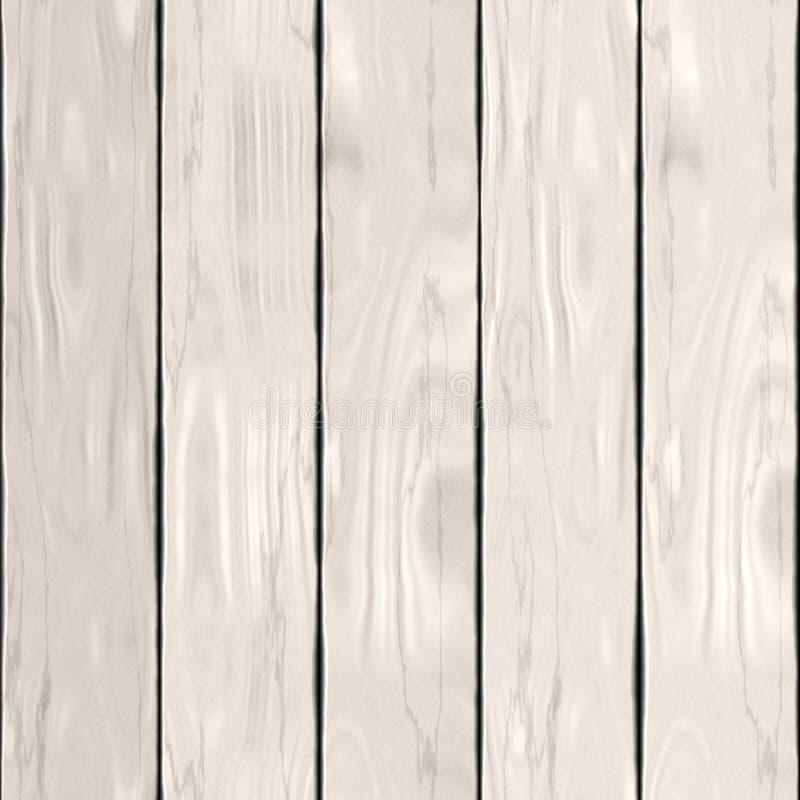 Белая деревянная текстура или высококачественная предпосылка бесплатная иллюстрация