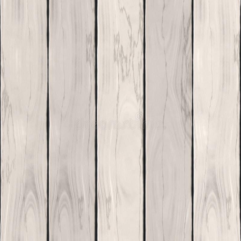 Белая деревянная текстура или высококачественная предпосылка иллюстрация штока