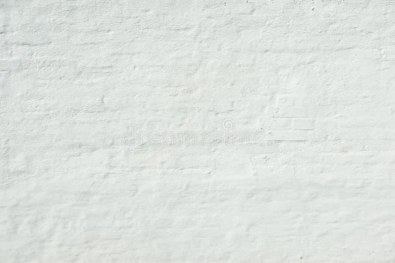 Белая кирпичная стена grunge стоковое изображение rf