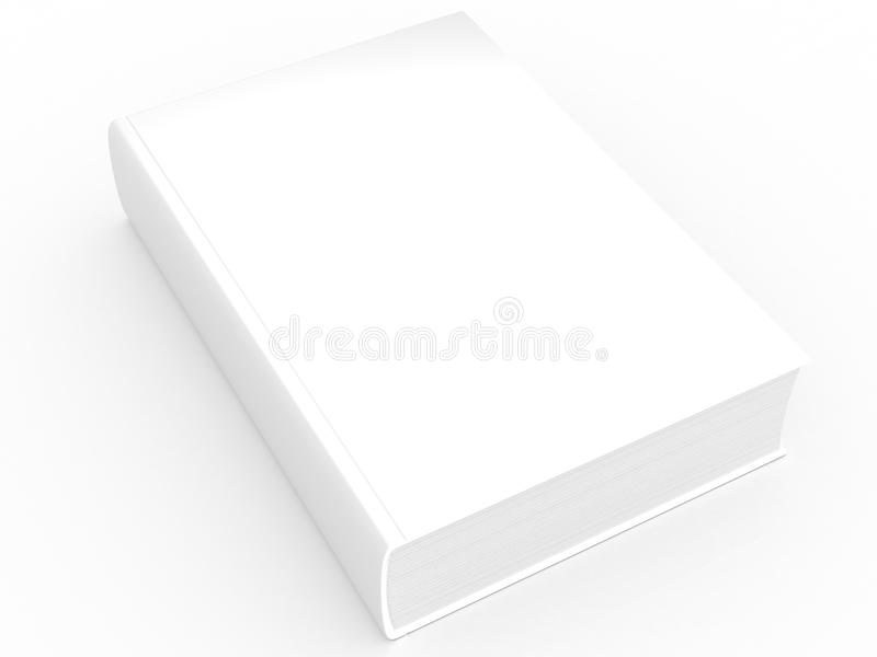 Белая книга Стоковое Изображение RF