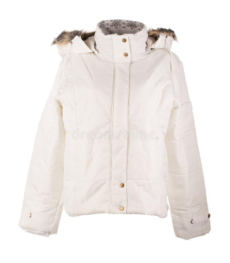 Белая куртка стоковое фото