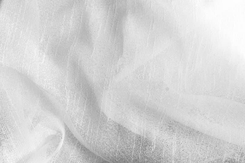 Белая мягкая поверхность ткани как предпосылка абстрактная белизна текстуры стоковые фотографии rf