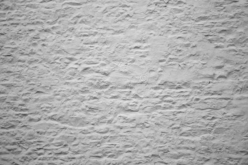 Белая представленная стена стоковая фотография rf
