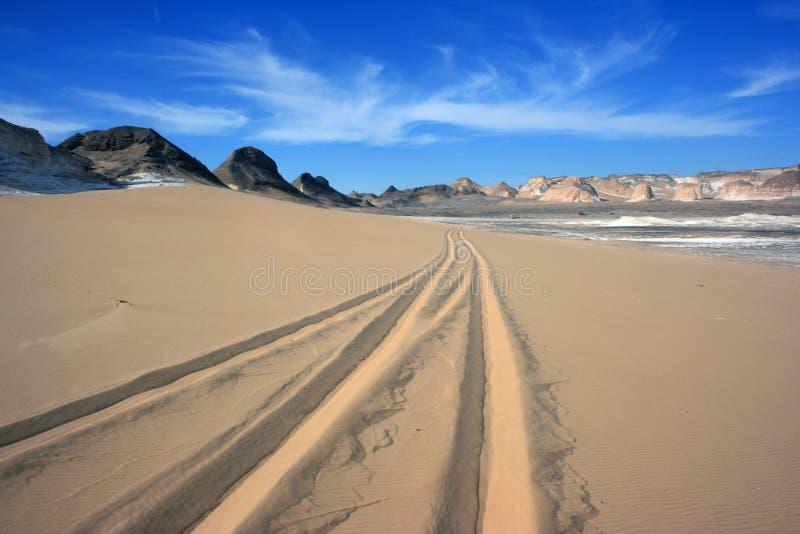 Белая пустыня стоковое изображение