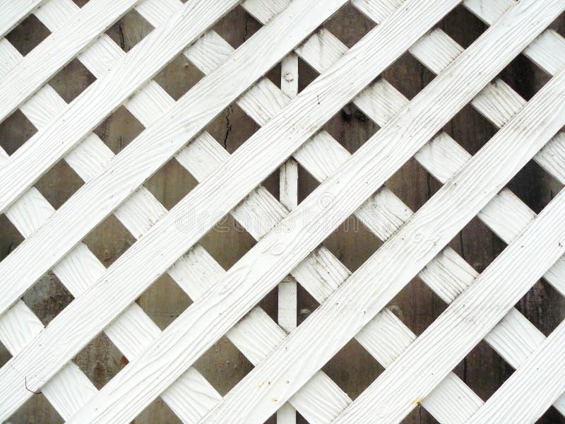 белая древесина старой стены решетины стоковая фотография