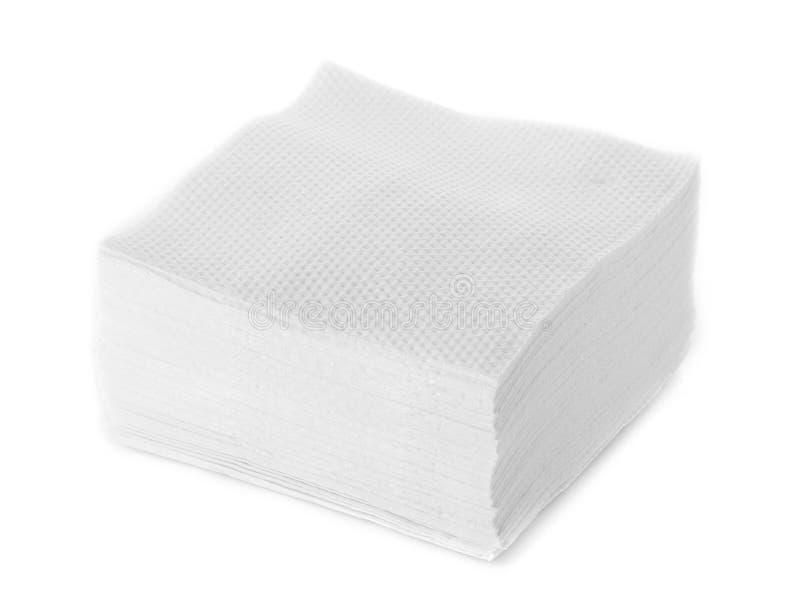 Download Белая салфетка квадратного бара Стоковое Изображение - изображение насчитывающей сложено, оборудование: 40590997