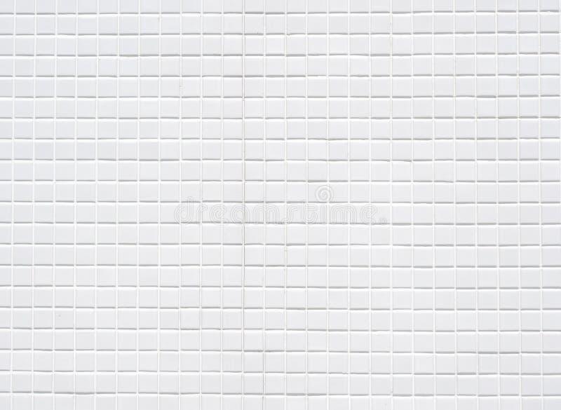 Белая стена керамических плиток стоковые изображения rf