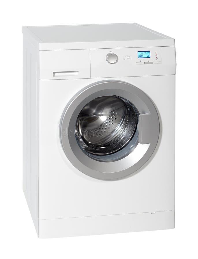 Белая стиральная машина стоковое фото rf