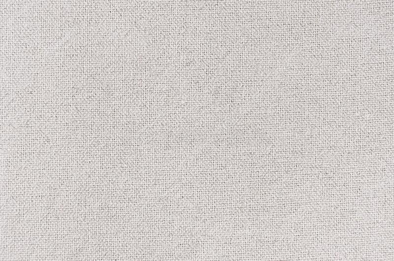 Белая текстура ткани холста хлопка стоковые фото