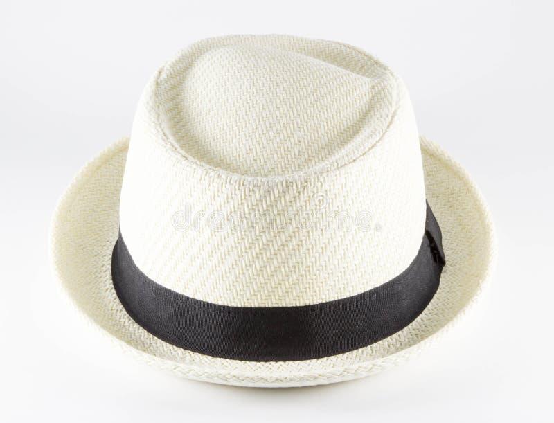 Белая шляпа стоковое изображение rf