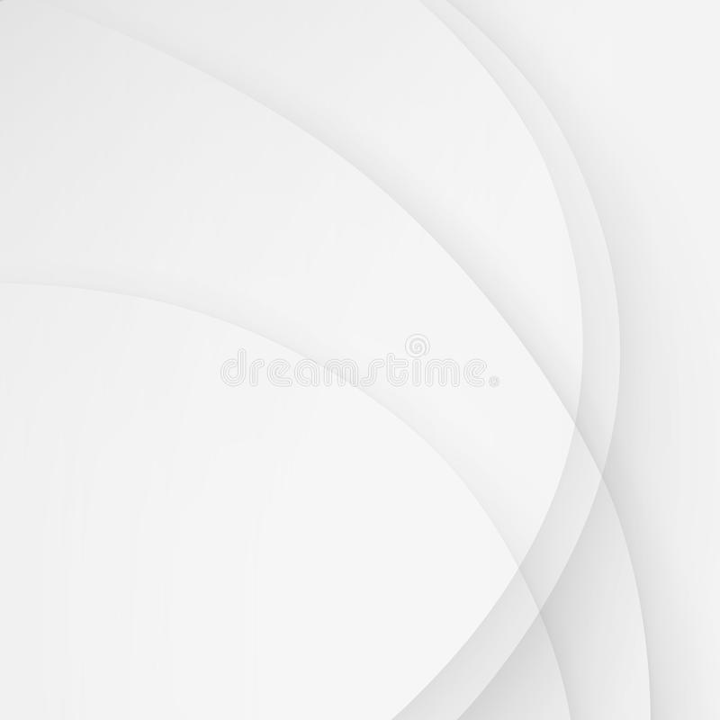 Белая элегантная волна вектора предпосылки дела выравнивает волнистое бесплатная иллюстрация