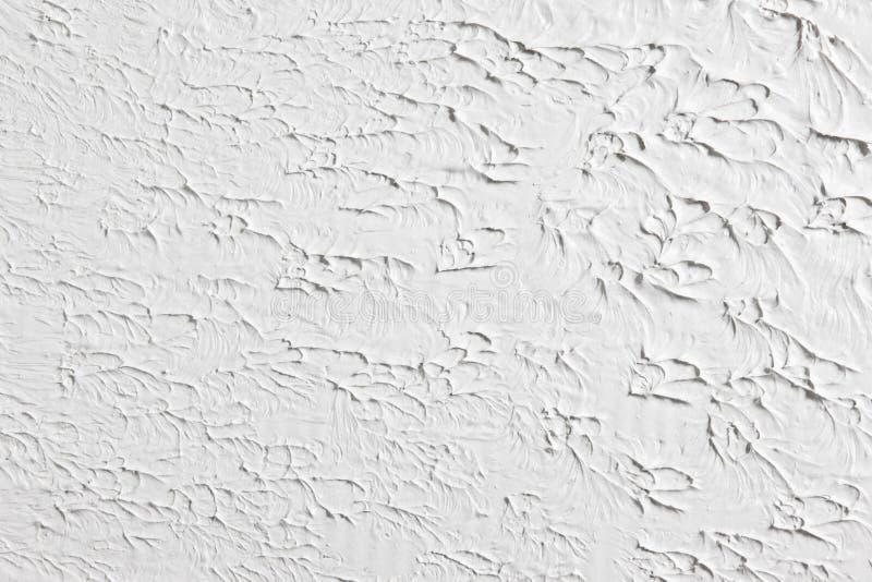 Белая grungy предпосылка сброса, текстура гипсолита стоковые изображения rf