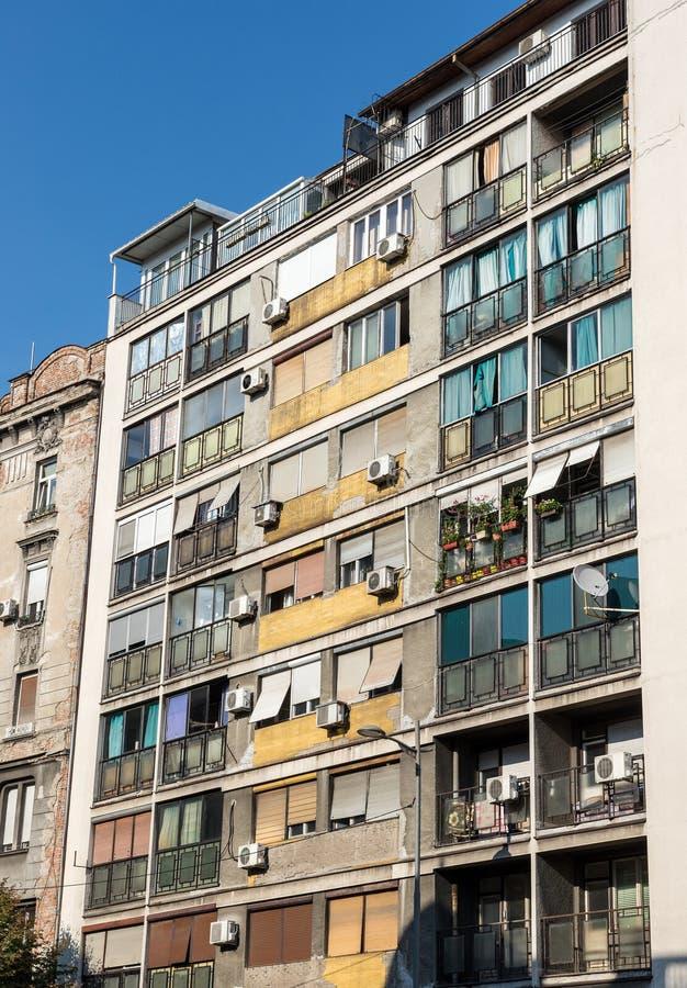 Белград в Сербии стоковое фото rf