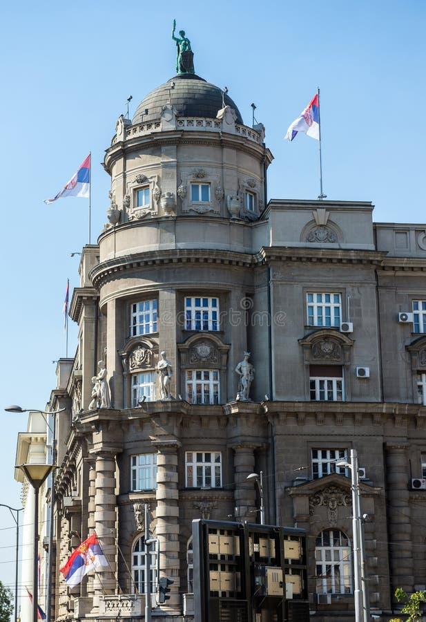 Белград в Сербии стоковая фотография