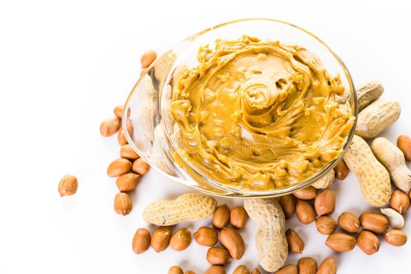 белизна арахиса масла падения масла предпосылки стилизованная стоковая фотография