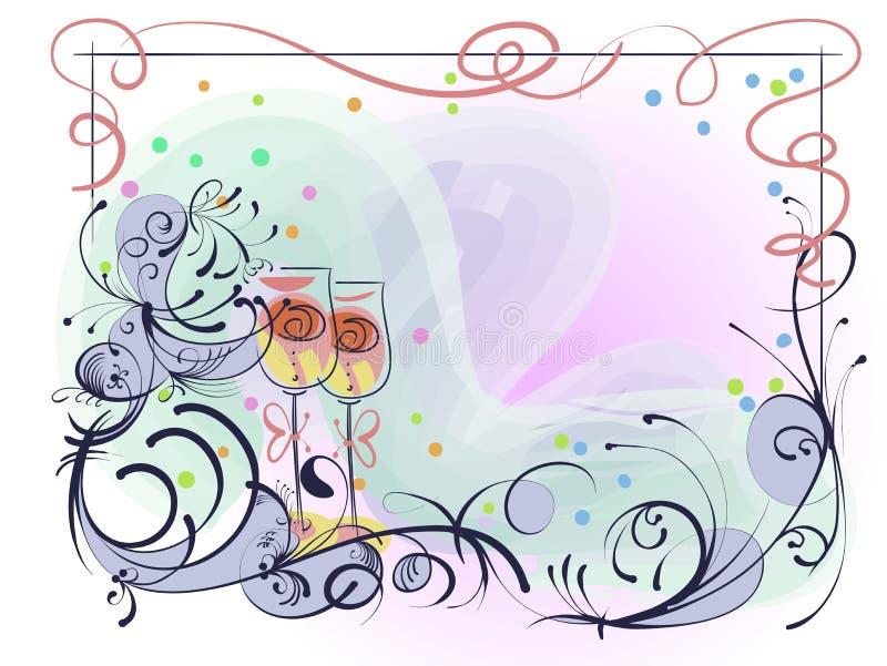 белизна венчания вектора приглашения чертежей карточки предпосылки бесплатная иллюстрация