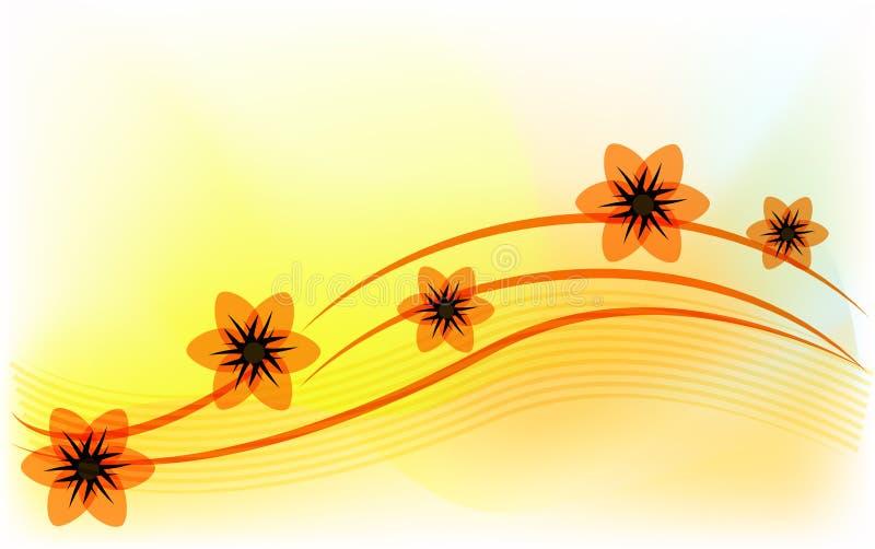 белизна весны пущи цветка иллюстрация штока