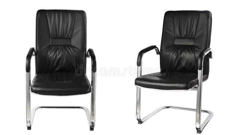белизна вопроса офиса стула предпосылки изолированная мебелью стоковое изображение rf