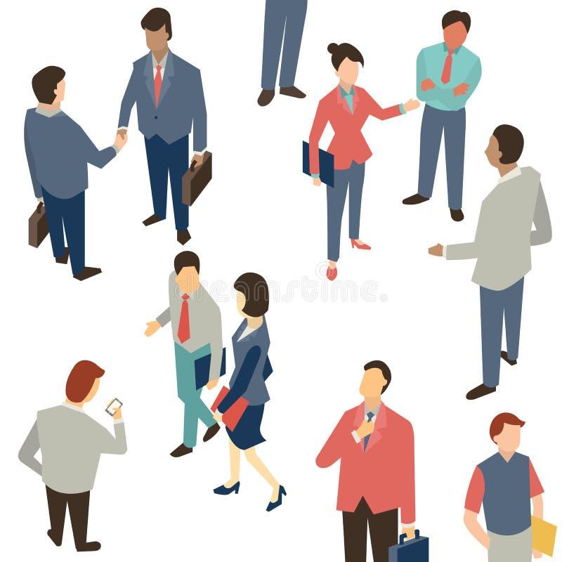 белизна делового сообщества предпосылки схематической изолированная иллюстрацией иллюстрация штока