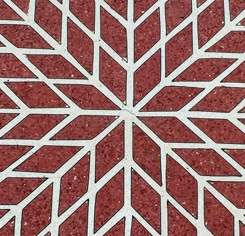 белизна картины мозаики красная стоковые фотографии rf