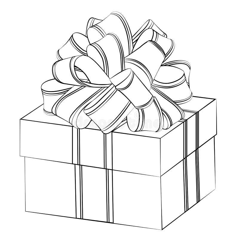 таким людям картинка подарка в коробке с бантом схематично цельного куска теста