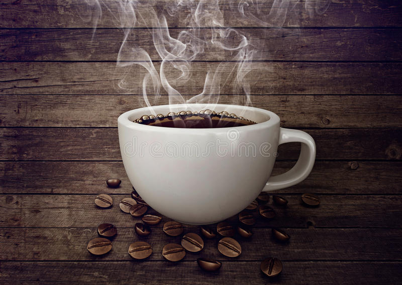белизна кофейной чашки иллюстрация вектора