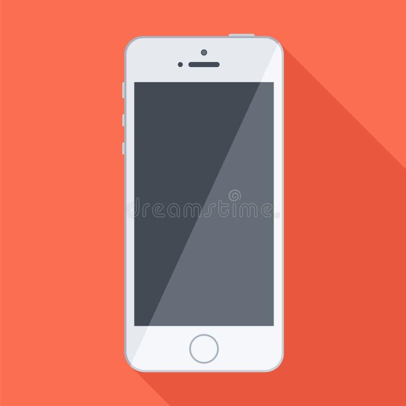 белизна мобильного телефона бесплатная иллюстрация