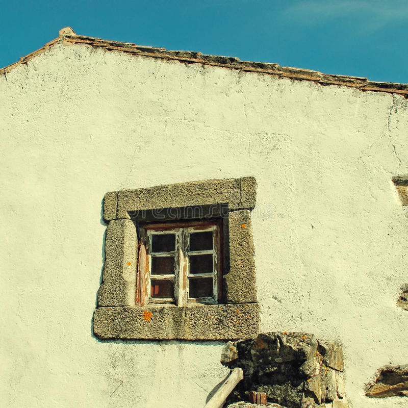 белизна дома старая стоковое изображение rf