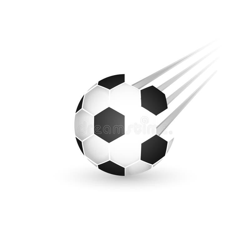 белизна футбола серии части предпосылки изолированная шариком Иллюстрация напольного значка дизайна спорт приключения бесплатная иллюстрация