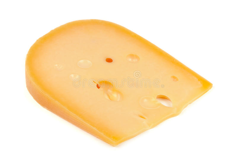белизна части предпосылки изолированная сыром стоковые фотографии rf