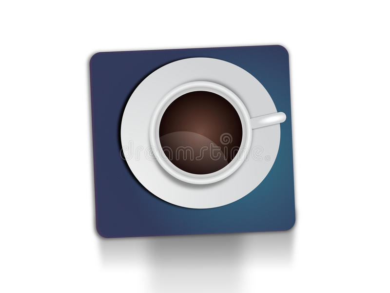 белизна чая предпосылки изолированная чашкой стоковые фотографии rf