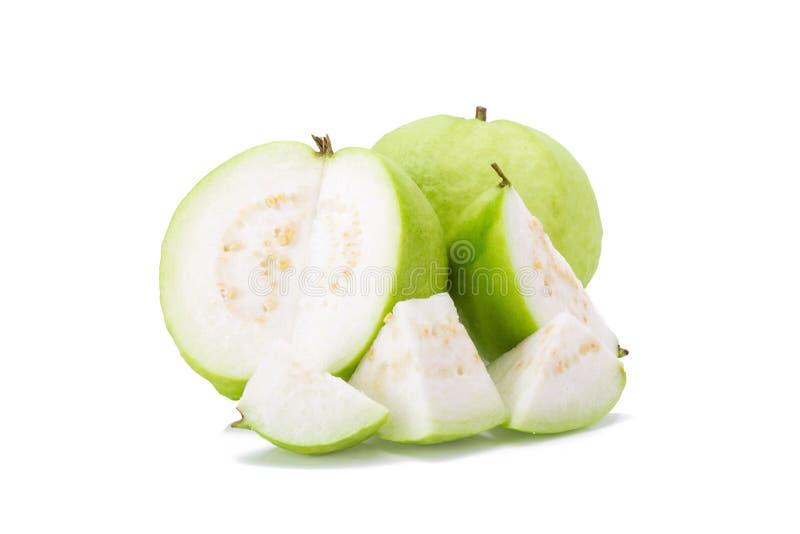 белизна guava плодоовощ предпосылки стоковые изображения