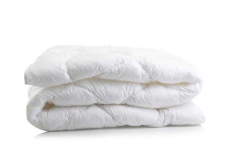 Белое одеяло одеяла стоковые изображения