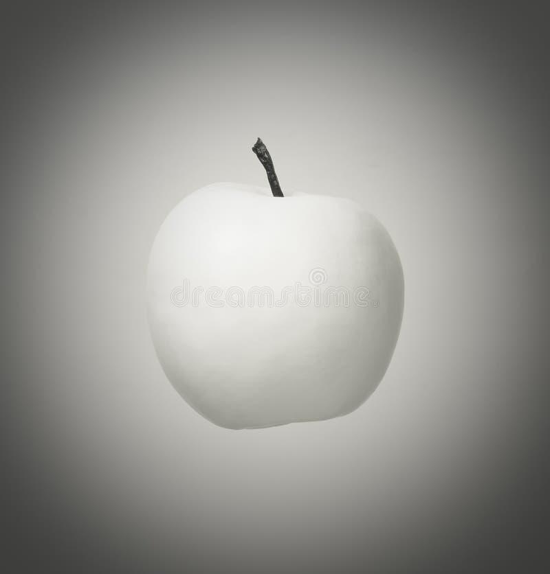 Белое яблоко стоковое фото