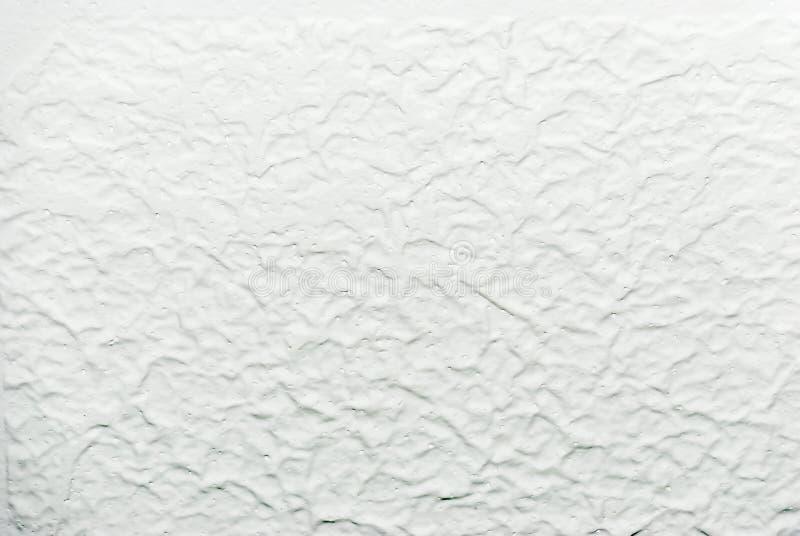 Белый акустический потолок попкорна стоковые фото