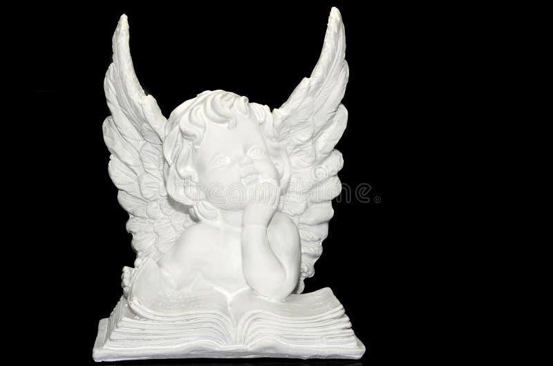 Белый ангел стоковые фото