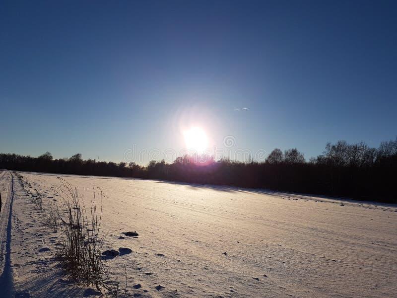 Белый ландшафт 1 стоковое изображение rf