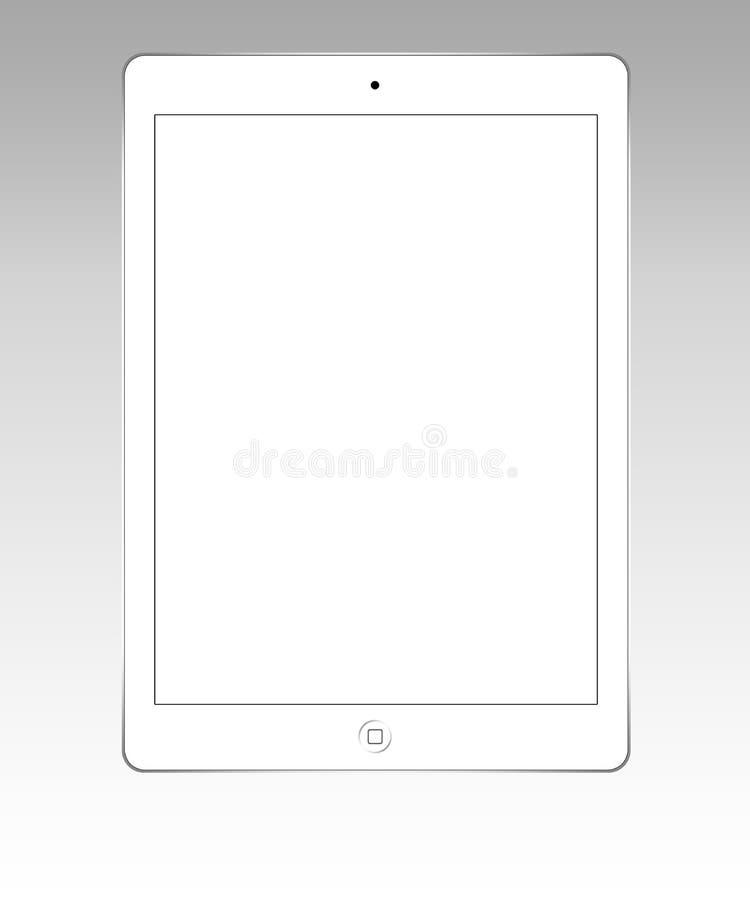 Белый воздух ipad иллюстрация штока