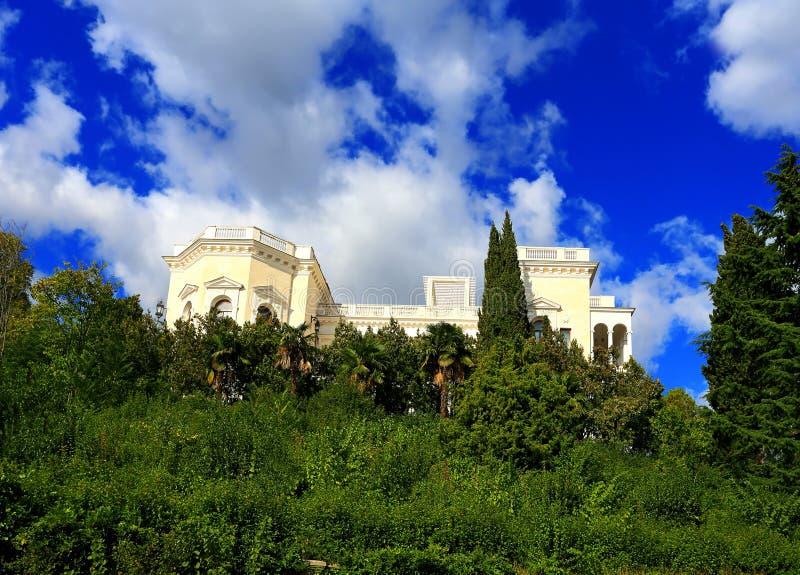 Белый дворец стоковое изображение