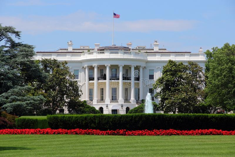 Белый Дом, Вашингтон стоковая фотография rf