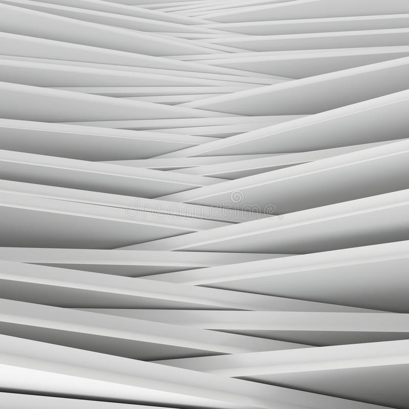 Белый конспект углов иллюстрация вектора