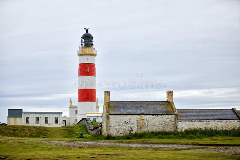 Download Белый красный маяк стоковое изображение. изображение насчитывающей bluets - 41650103